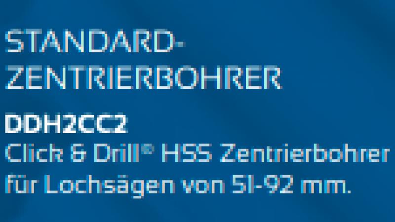 Standard-zentrierbohrer